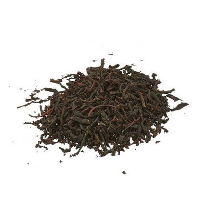 black organic earl grey tea