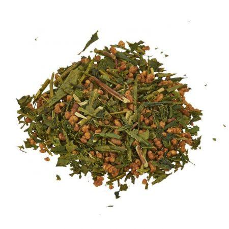 green genmaicha