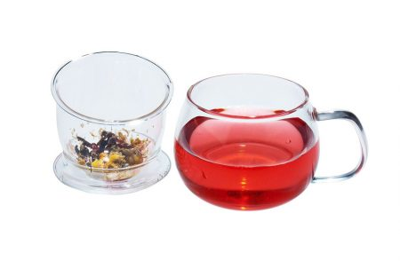 tea cup with infuser